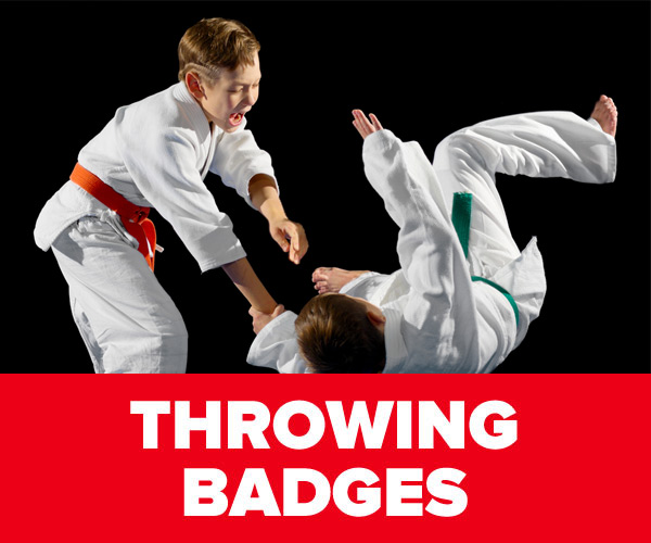 Throwing Badges