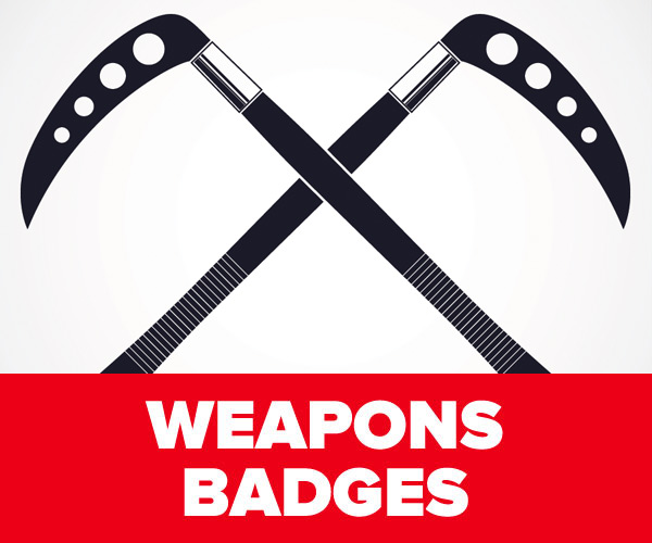 Weapons Badges